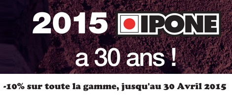 Offre Ipone 30 ans