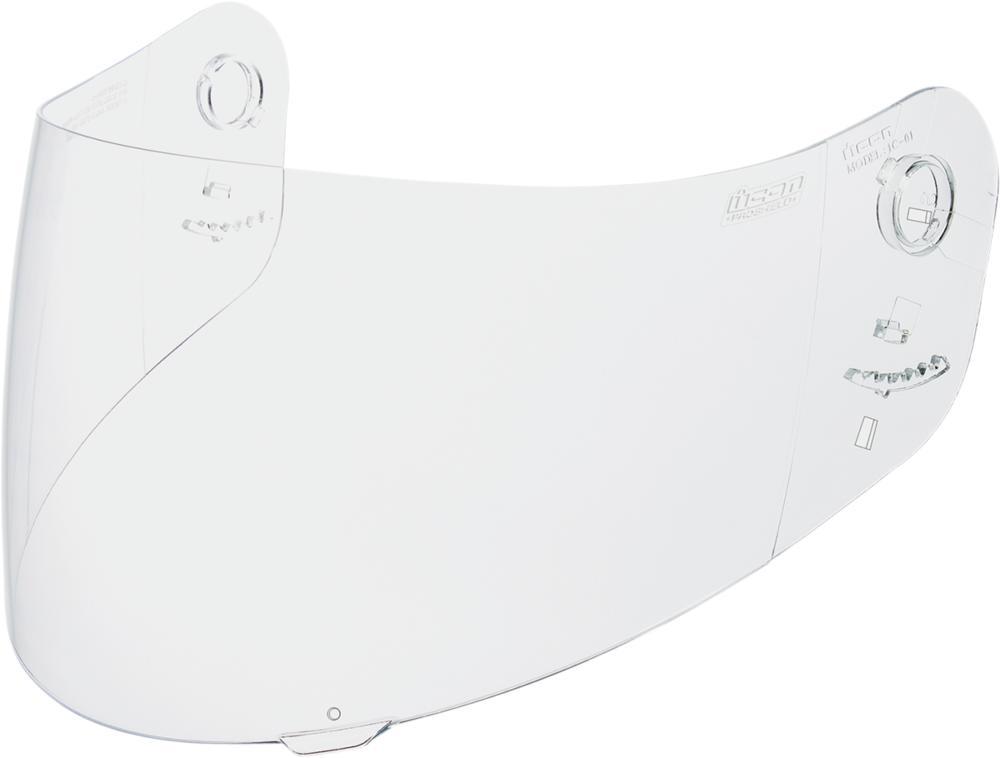 Visière casque ICON AIRMADA / ALLIANCE gamme PROSHIELD Transparent
