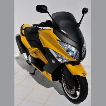 Bulle Yamaha 500 TMAX 2008-2011 ERMAX Sport 68 cm (sans decoupes retro) Noir Satin
