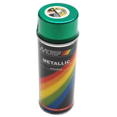 Bombe de peinture MOTIP PRO METAL Vert 400ml