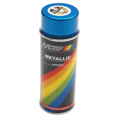 Bombe de peinture MOTIP PRO METAL Bleu 400ml