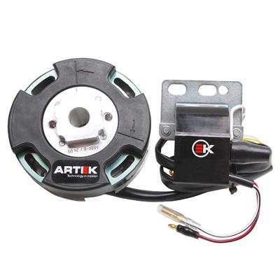Allumage Artek K1 Rotor Interne Avec Eclairage Pour PEUGEOT 103SPX-RCX Electronique