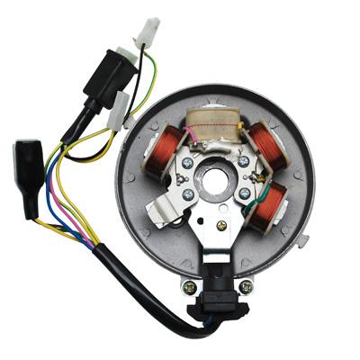 Stator Allumage Adaptable PEUGEOT 103 Electronique 6V Avec Capteur (Avec Platine)