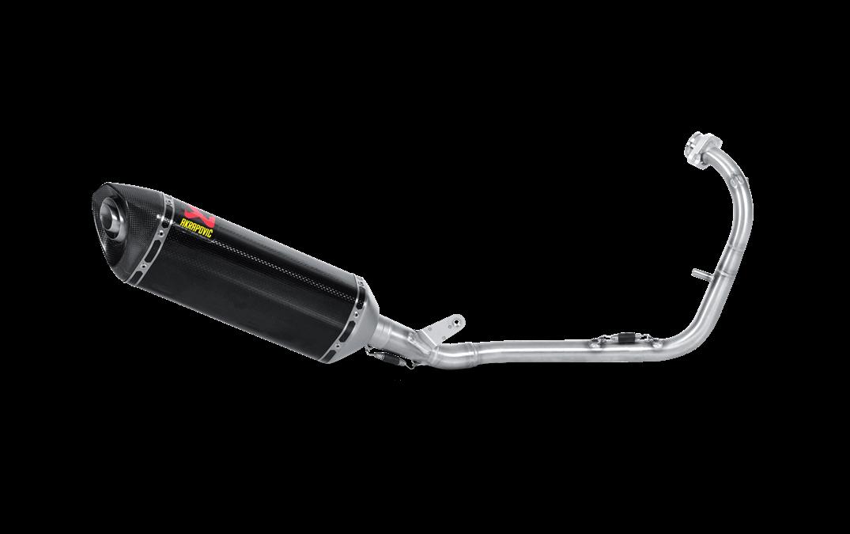 Echappement AKRAPOVIC Yamaha YZF R125 2008-2013 Ligne complète - Carbone