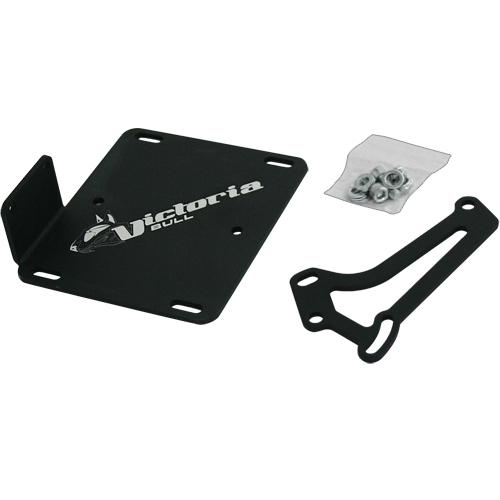 Support de plaque scooter Piaggio - Ludix (se fixe au moteur)