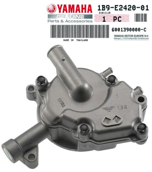 Pompe a eau Yamaha 125 Xmax (complete avec carter)
