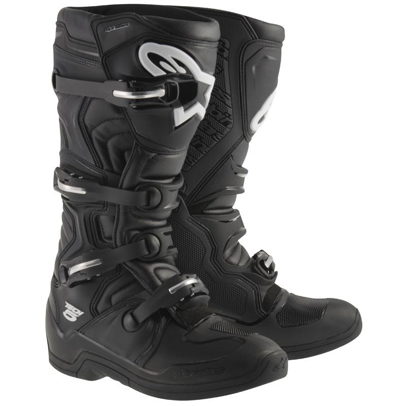 Bottes Motocross / Enduro Tech 5 noir Alpinestars Pointure 51