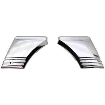 Porte De Boite A Outils Pour PEUGEOT 103 RCX-SPX, Vogue Chrome (Paire)