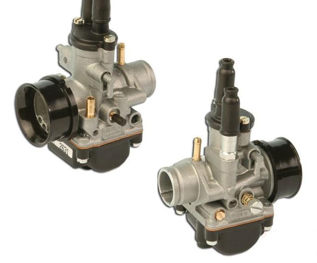 Carburateur Dellorto D19mm montage souple (huile + depression) PHBG19DS