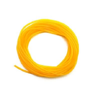 Durite huile D2x4mm souple jaune - Longueur 50 cm -