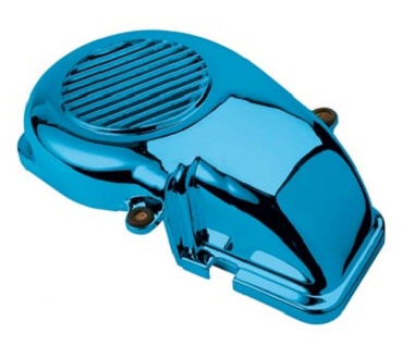 Cache turbine Booster / Stunt / BW'S / Spy / Bump / Slider de 1995-2003 Bleu
