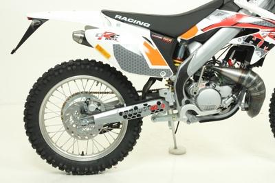 Pot Giannelli HM 50 CRE 2003-2009 (sans silencieux)
