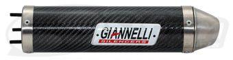 Silencieux Giannelli Derbi 50 DRD Xtreme (carbone)