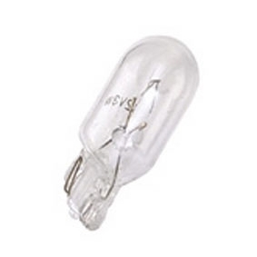 Lampe 12V 5W type T10 Wedge temoin culot verre