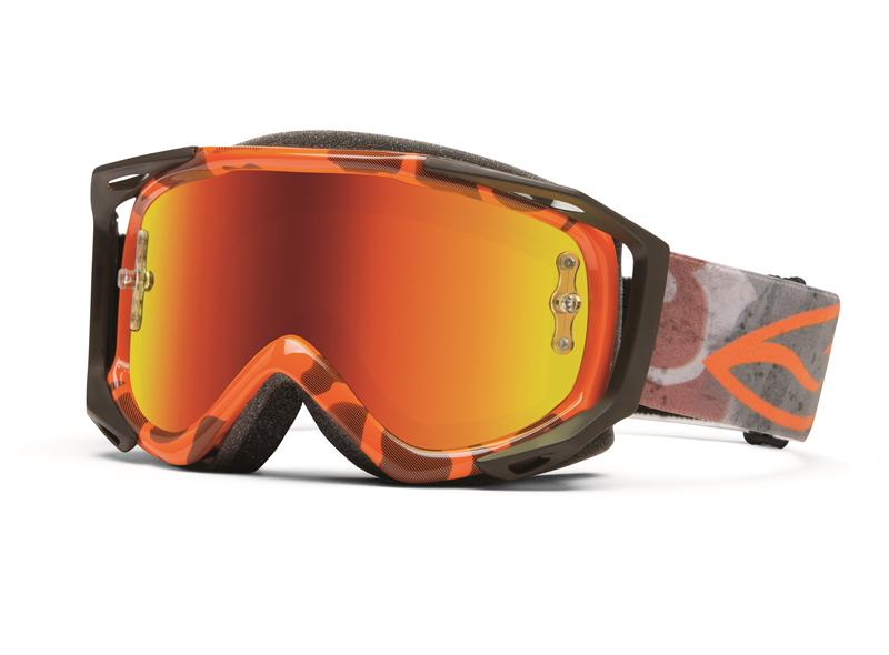 Masque Cross Smith Fuel V.2 Sweat-X Orange Duck Camo