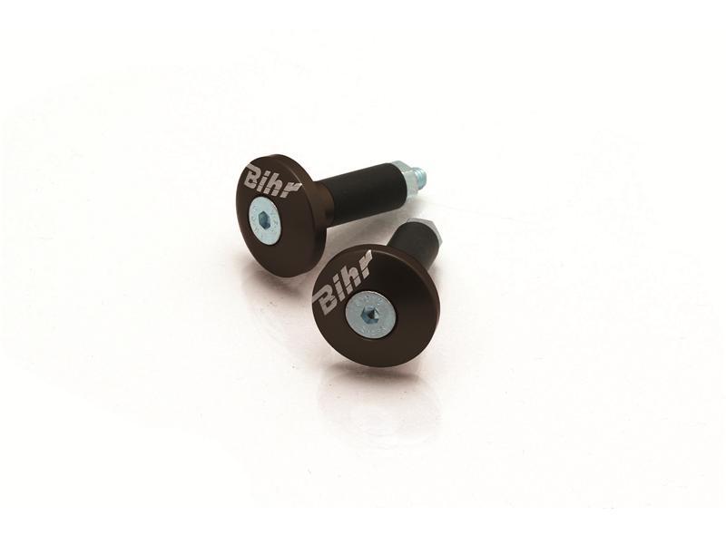 Embout de Guidon D12mm BIHR (Noir)