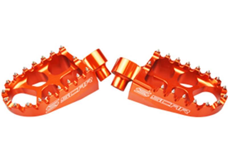 Repose Pied Evo KTM EXC-F / SX-F SCAR Orange