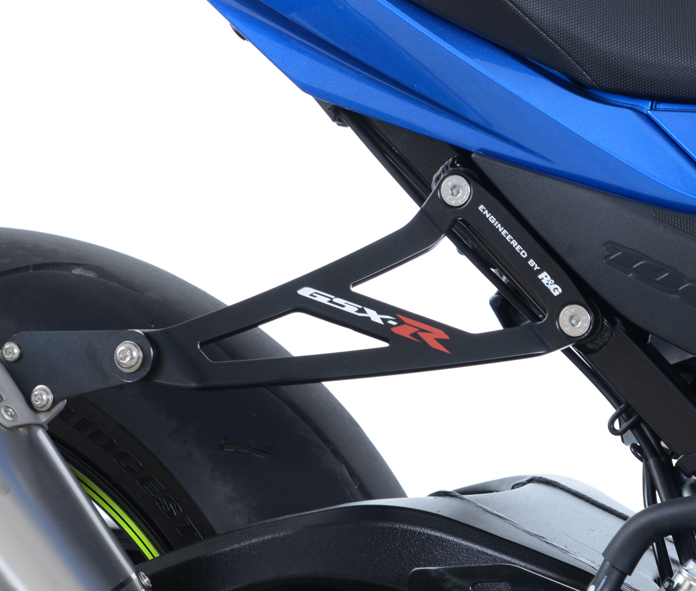 Patte de fixation Silencieux SUZUKI 1000 GSX-R Noir RG RACING