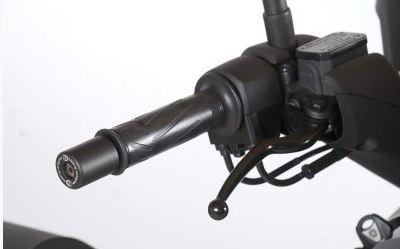 Embout de Guidon YAMAHA 125 XMAX R&G Noir