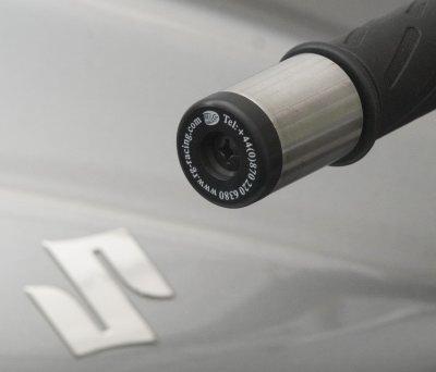Embout de Guidon Moto SUZUKI 650 / 1000 VSTROM / 1300 HAYABUSA R&G