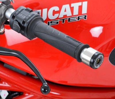 Embout de Guidon Moto Ducati 8482008-2012 / 1200 Monster 2014-2015 / Guidon Renthal D.13.5 mm R&G