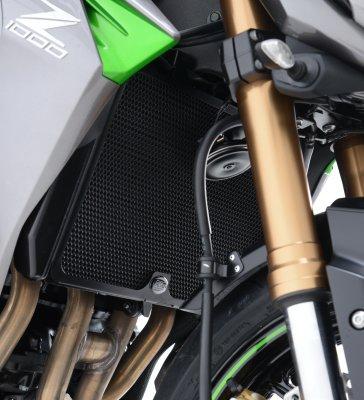 Grille de radiateur Alu Kawasaki 750 / 800 / 1000 Z Noir RG
