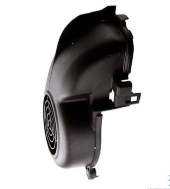 Cache turbine Ovetto / Neos / Jog R / SR50 Noir (Moteur à air)