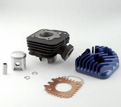 Cylindre Top perf Peugeot 50 Trekker - Vivacity (fonte - avec culasse)