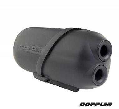 Boite a air Doppler Air Box Noir (Mot. Minarelli)