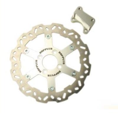 Disque de frein Doppler MBK 50 Stunt (D250mm - Chrome)
