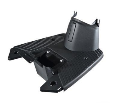 Carenage MBK 50 Stunt / Yamaha 50 Slider - Marche pied (Noir)