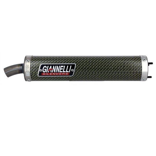 Silencieux Giannelli Honda 125 NSR R 1992-2001 (Kevlar)