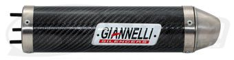 Silencieux Giannelli Cagiva 125 Planet/Raptor (carbone)