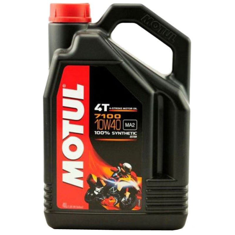 Huile 4T MOTUL 7100 10W40 100% synthetique (4L)