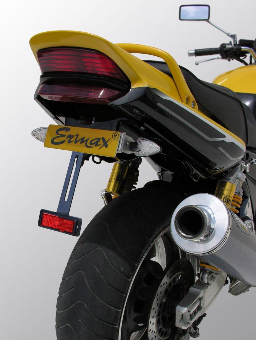 Passage de Roue Yamaha 1300 XJR 1999-2014 + Eclairage Plaque Brut