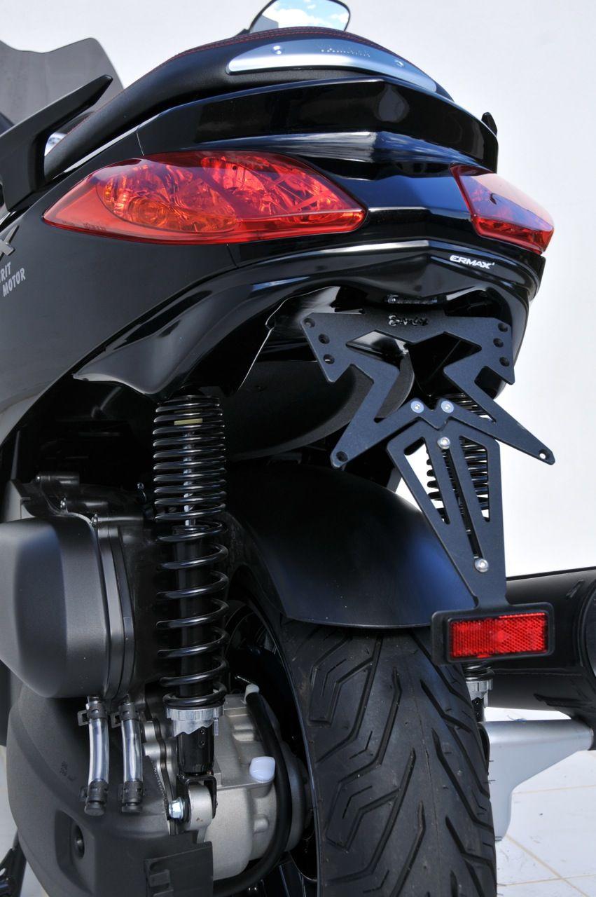 Passage de Roue Yamaha 125/ 250 XMAX 2010-2013 + Eclairage Plaque Brut