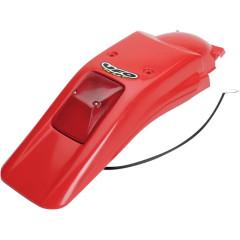 Garde boue Arriere Honda 250 XR 1996-2004 / 400 XR avec feu integre Rouge UFO