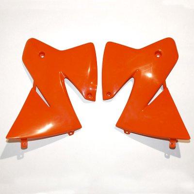 Ouïes de radiateur KTM 1998-2000 Orange KTM UFO