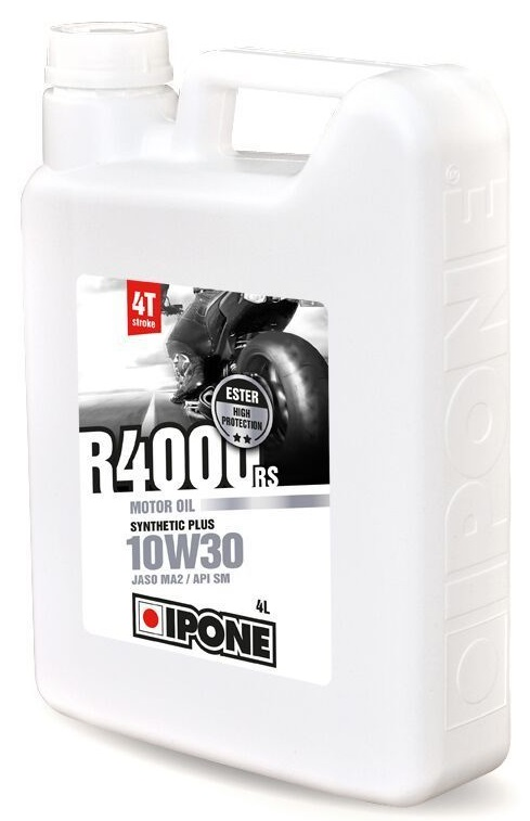 Huile 4T Ipone Moto R4000RS (10w30 - 4L)