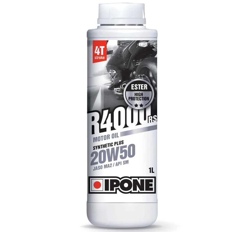 Huile 4T Ipone Moto R4000RS (20w50 - 1L)