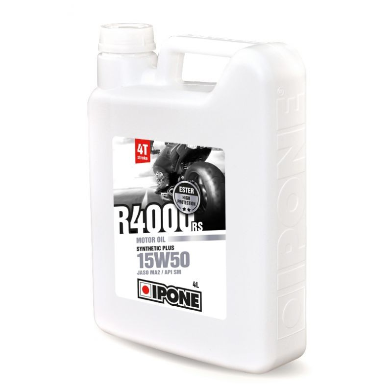 Huile 4T Ipone Moto R4000RS (15w50 - 4L)