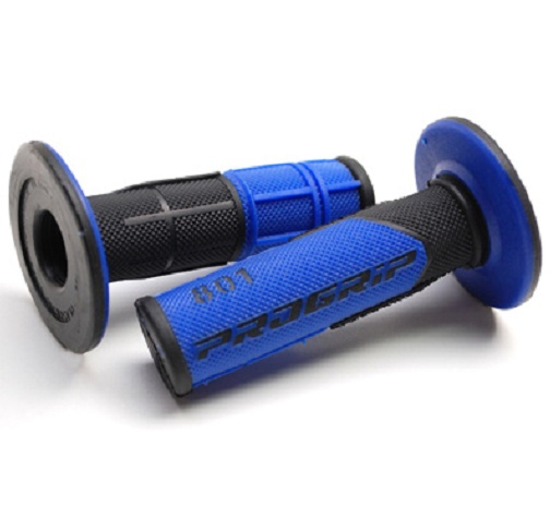 Poignees ProGrip 801 Bleu / Noir (La paire) - Cross