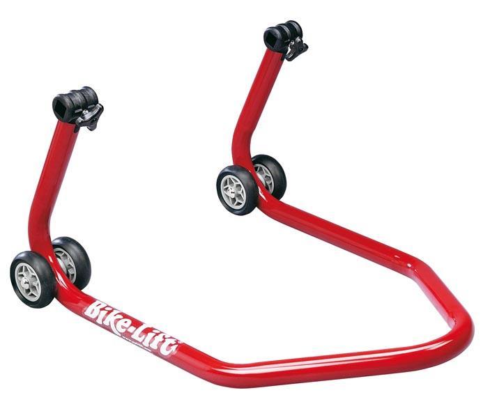 Lève moto arrière BIKE-LIFT Rouge / béquille d'atelier