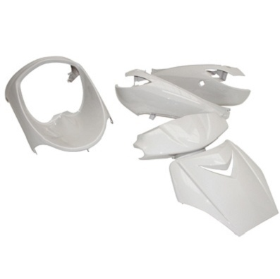 Kit carenages peugeot 50 Vivacity 1999-2007 (Blanc)