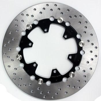 Disque de frein D305x134x118mm (6 trous D8.5mm) epaisseur 5mm