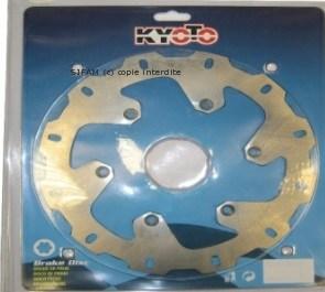 Disque de frein D267 X 150 X 132.5mm (6 trous D8.5mm) epaisseur 5mm WAVE