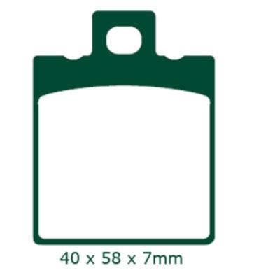 Plaquettes de frein EBC FA047