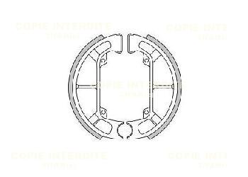Machoires de freins (D100x20mm)