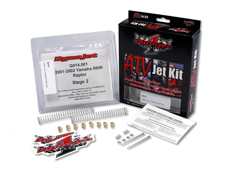 Kit carburation STAGE 1 DYNOJET POLARIS 596 SPORTSMAN 600 TWIN APRÈS 10-02-03 2003-2005