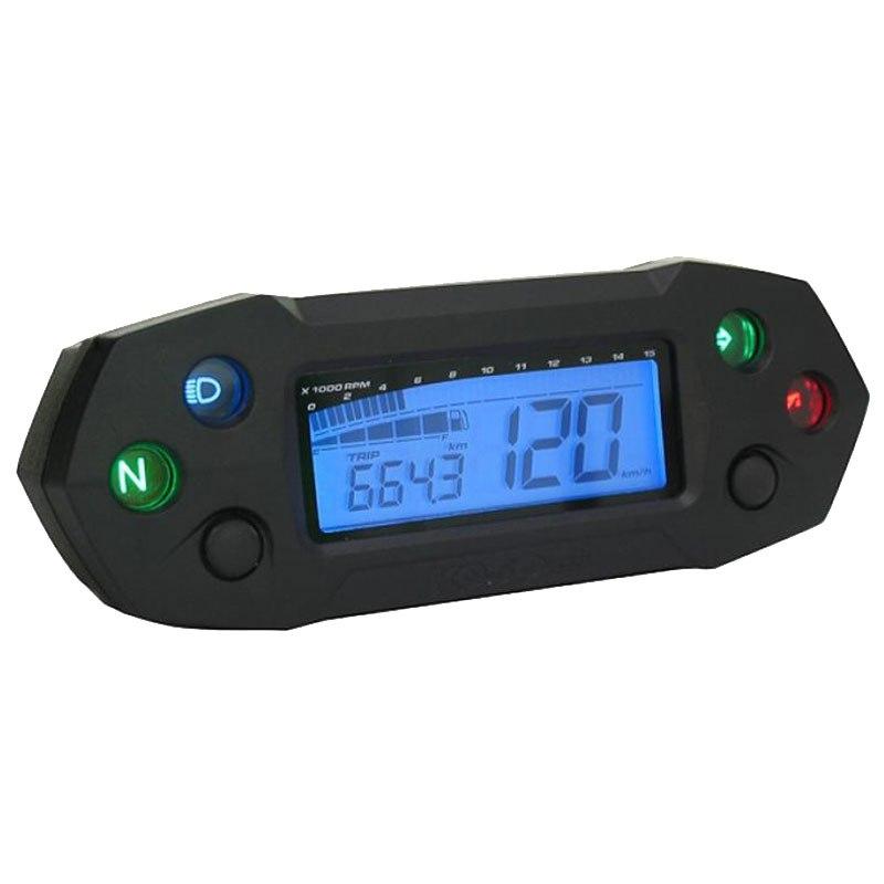 Compteur de vitesse multifonctions KOSO DB-01R - Montage universel (noir)